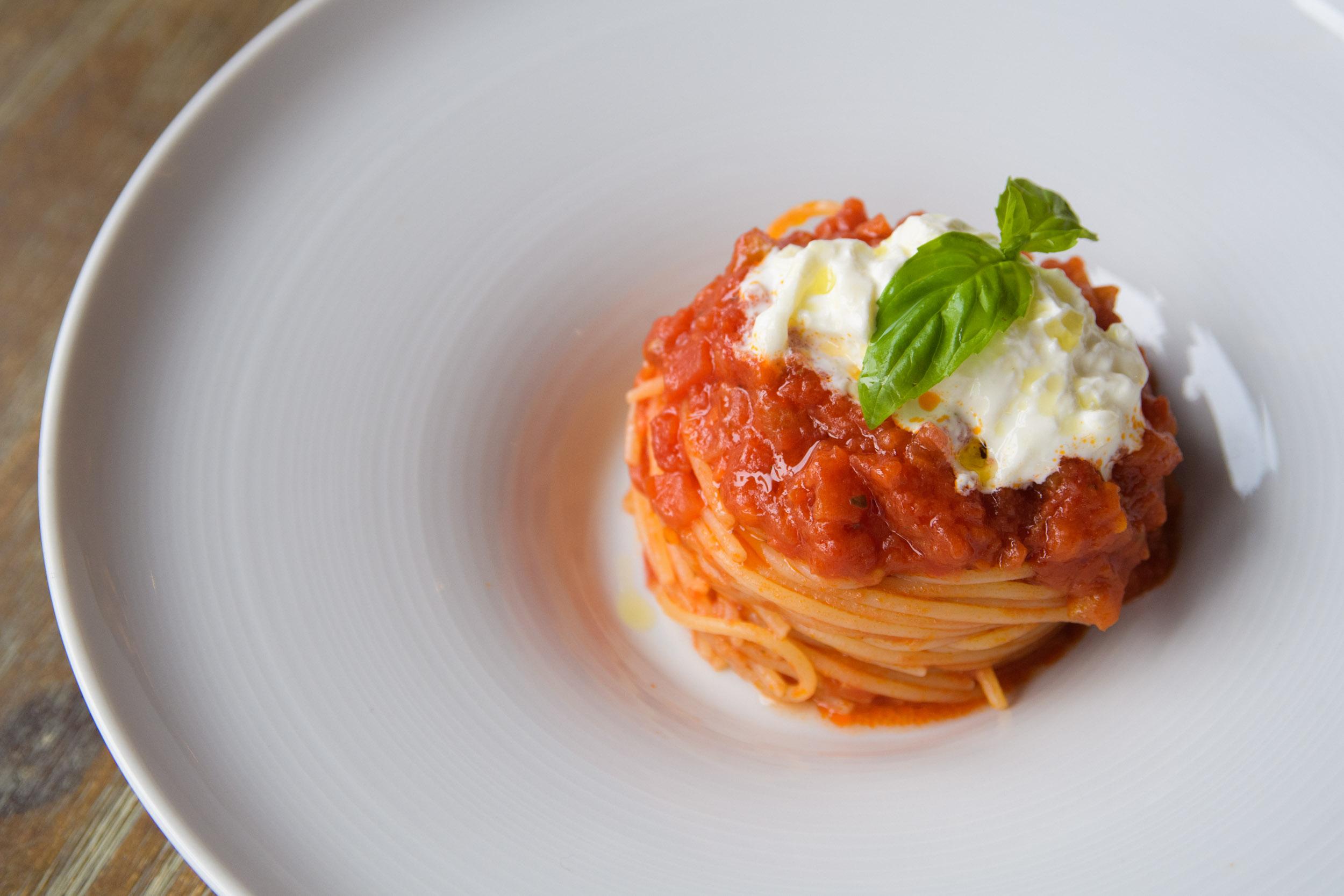 Ad Majora Caffè - Spaghetti al pomodoro
